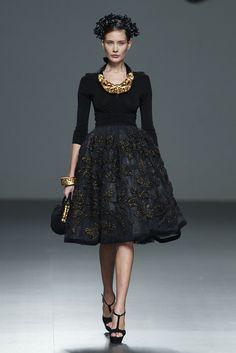 Elegancia peruana gracias a Meche Correa - Madrid Fashion Week