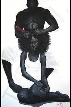 ♥ #FutureHusband will wash my hair and grease my scalp when I ask nicely