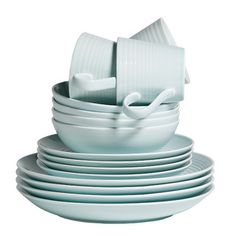 Shop for Gordon Ramsay by Royal Doulton Maze Blue 16-piece Dinnerware Set. Get free delivery at Overstock.com - Your Online Kitchen