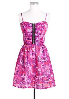 dELiAs > Abstract Hook & Eye Dress