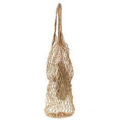 ヘルムートラング ポーチ付きネットバッグ ゴールド  woven bag with pouch • helmut lang  14,695円