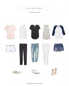 Mom style | Momiform ideas by Brigette Turner