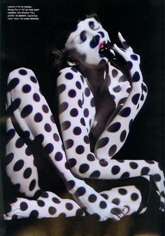 avant-garde fashion photography - Numero 93 May 2008: Edita Vilkeviciute by Solve Sunsbo
