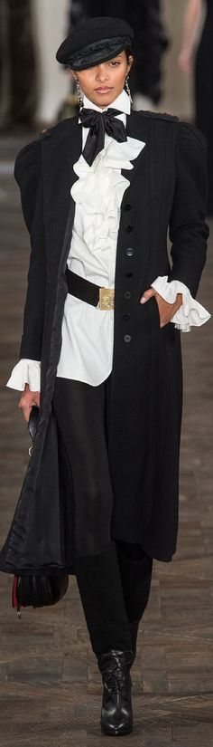 Ralph Lauren F/W 2013-2014 Sure would from the HAT to the heels and would enjoy every step!!
