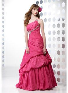 Pretty A-Line Floor-Length Empire Waistline Prom Dresses