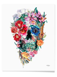 Momento Mori VI by Riza Peker (Canvas) from Gallery Wall 101 on Gilt