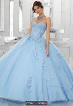 New applique Dress Ball Gowns Prom Party Wedding Formal Quinceanera Dress Custom Sweet 16 Dresses, 15 Dresses, Ball Dresses, Elegant Dresses, Beautiful Dresses, Fashion Dresses, Dresses Online, Tulle Ball Gown, Ball Gowns Prom