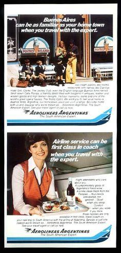 Aerolineas Argentinas Service Advert