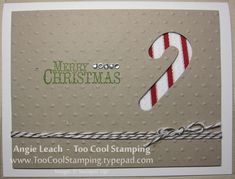 Splitcoaststampers FOOGallery - Ribbon Windows - Candy Cane
