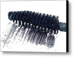 Black Mascara Canvas Print / Canvas Art By Blink Images
