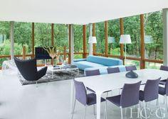 Inside Architect Roger Ferris's Minimalist Hamptons Getaway - Hamptons Cottages…