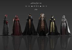 ArtStation - The Guardians sketches, Xander Smith