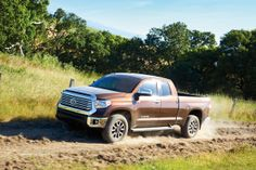 The #Toyota #Tundra isn't afraid of a little dirt