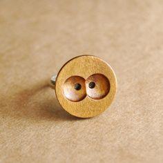 A cute little owl ring