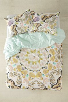 Plum & Bow Butterfly Print Duvet Cover