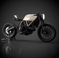 """Cream of the crop. Another whippy little Ducati cafe racer Motorcycle Design, Motorcycle Bike, Bike Design, Ducati Cafe Racer, Cafe Bike, Cafe Racers, Ducati Pantah, Moto Scrambler, Guzzi"