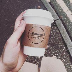 Milk & Moss on the go  #milkandmoss #milkandmosscoffee #coffeeshop #coffee #latte #takeawaycoffee #coffeeonthego #norwich #norwichcoffee #norfolk by milkandmosscoffee