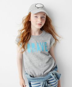 Make a (style) statement with our limited time GapKids x ED collection, a collaboration with Ellen DeGeneres' new lifestyle brand created to help empower girls everywhere.