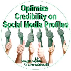Make sure your social media profiles tell people who you are, what you do, and don't forget to add a photo.