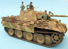 Anthony Sheedy. Jagdpanther final production. 1/35 Tamiya Brett Green. Jagdpanzer IV/70(V)...