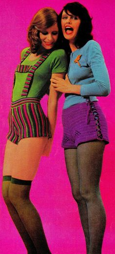 Vintage 70's Crochet Hot Shorts PDF Pattern  by KinsieWoolShop, $3.20