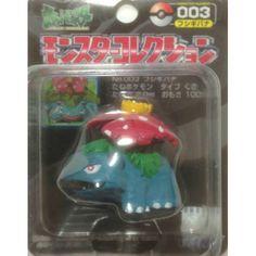 Pokemon 2004 Venusaur Tomy 2 Monster Collection Plastic Figure #003