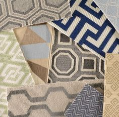 Contemporary colors may be tamer than when these carpets were first introduced, but the patterns are now classics.