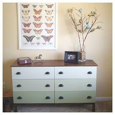 tarva nightstand ikea hack   Hello! Upholstery + Blog: Before & After: Ikea Dressers   Decoration