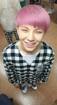 Woozi Seventeen.....this is the picture of happiness