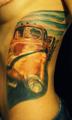 Realism Tattoo by Den Yakovlev