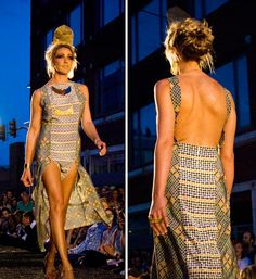 Review of Amatoria Clothing and AnnMann Designs Collection for #West18thStreetFashionShow