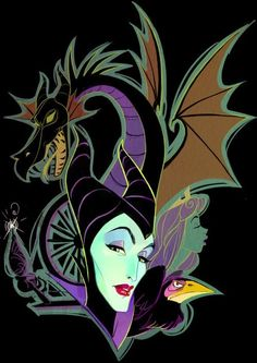 Maleficent by Daemion Elias George-Cox