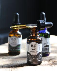 handmade beard oil by Brooklyn Grooming