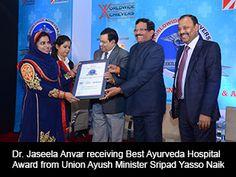 Worldwide Achievers Best Ayurveda Hospital Award 2015