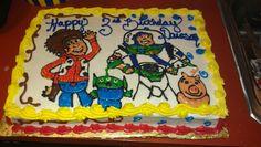 Toy story cake -Sweetness by Tacy LLC
