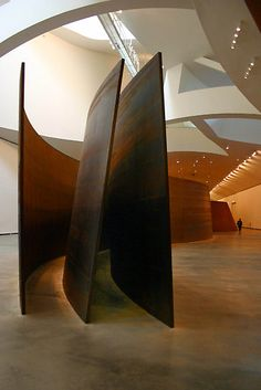 Richard Serra,Guggenheim,Bilbao. Saw this one in person and was awed.