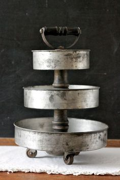 decorative uses for old pie tins - Google Search