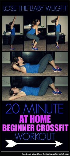 Workout to Lose the Baby Weight AT HOME