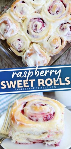 An easy breakfast sweet roll perfect to make for Thanksgiving or Christmas morning! Soft and sweet yeast rolls filled with raspberries and topped with cream cheese frosting will surely impress family and friends. Make this easy recipe for the holidays! Sweets Recipes, Cooking Recipes, Desserts, Breakfast Time, Breakfast Ideas, Sweet Roll Recipe, Yeast Rolls, Delicious Breakfast Recipes, Rolls Recipe