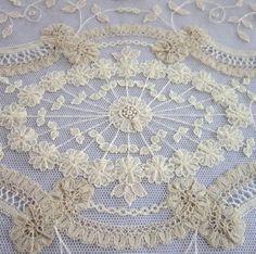 "Found on liveinternet.ru Miss Teri B Miss Teri B • Vintage Brussels lace ""called Princess lace"""