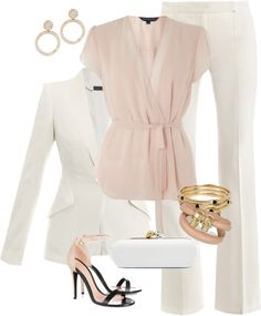 Nice spring/summer look Corporate Fashion, Business Fashion, Classy Outfits, Beautiful Outfits, Work Fashion, Fashion Outfits, Dress Attire, Business Casual Attire, Frou Frou