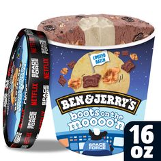 Blueberry Ice Cream, Ice Cream Flavors, Ben And Jerrys Ice Cream, Bullet Journal, Candy, Foods, Snacks, Club, Drink