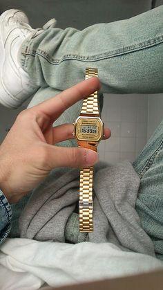 c5f82db8f51ea Casio A168WG-9EF Roupas Masculinas, Relógios Masculinos, Relógios  Femininos, Relógio Casio,