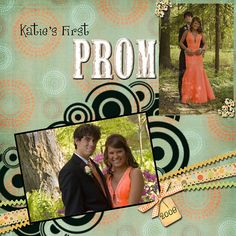 high school scrapbook layout ideas   any high school prom. I went to an excluse Catholic Convent School ...