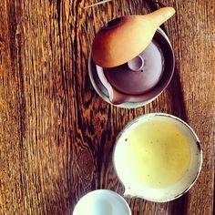 The new harvest Taiwanese li shan oolong tea at Formocha Teahouse Amsterdam