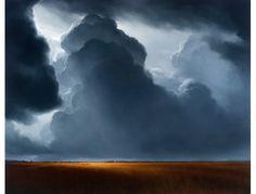 James McLaughlin Way. Oil on canvas
