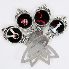 Twilight Saga bookmarks. These are perfect and pretty.
