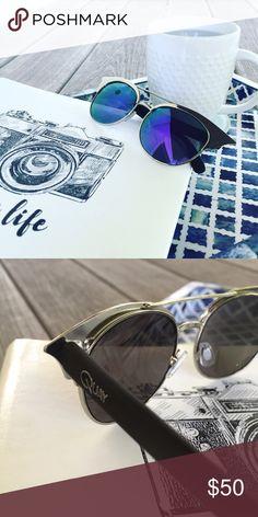 🆕 NWOT Quay Zig Sunglasses in Silver & Purple Description to come. Quay Australia Accessories Sunglasses