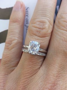 Solitaire Diamond On 5.5 Ring Size