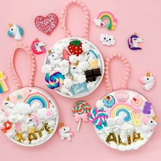 You guys, I can't even begin to tell you how excited I am about these Whipped Glue Decoden Unicorn Ornaments 🦄🌟 Whipped what you ask? Easy Crafts For Kids, Diy Arts And Crafts, Creative Crafts, Crafts To Sell, Glue Gun Crafts, Sand Crafts, Clay Crafts, Glitter Crafts, Unicorn Diy